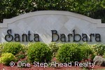 sign for Santa Barbara