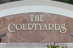 sign for The Courtyards