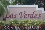 sign for Las Verdes